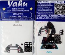 Yahu Models YMA2405 1/24 PE Hawker Typhoon Mk.Ib late Instrument panel Airfix